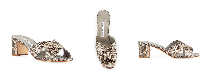 Manolo Otawi Crisscross Snakeskin Slide Sandals.png