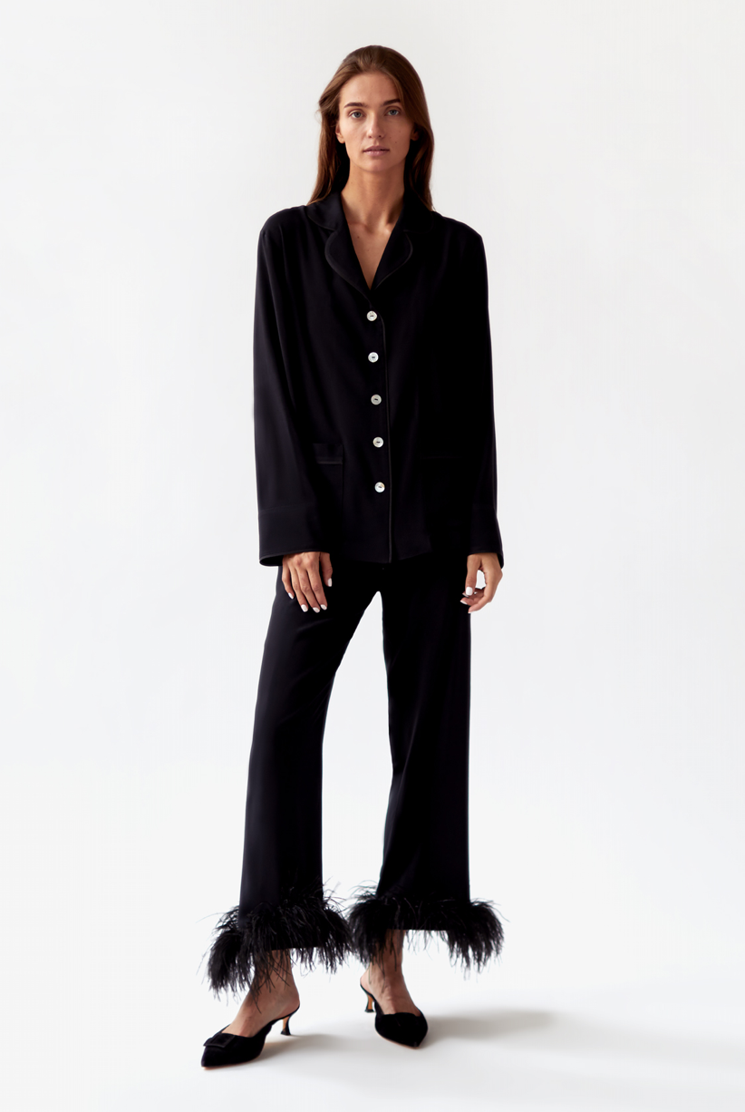 "The Sleeper  ""Black Tie"" Pajama Set"