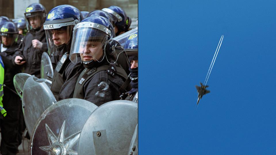 Fantasy Lives: Riot Police + Jet Sword