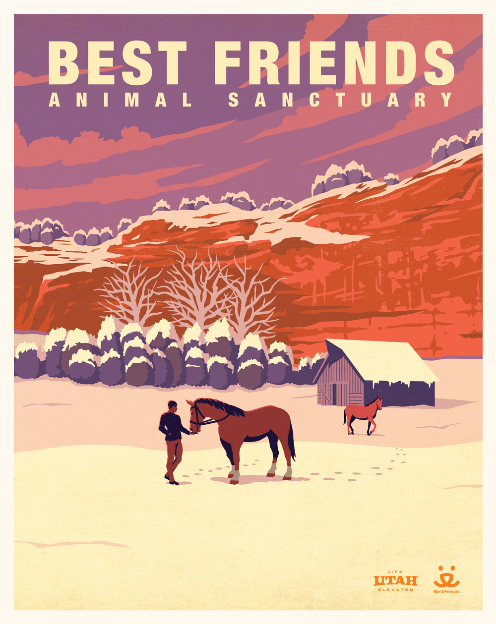 Winter poster