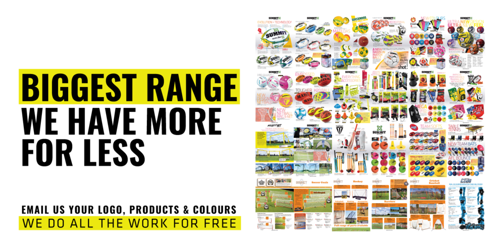Download our catalogue to see the football range