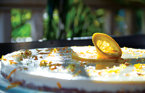 Orange Cheesecake © 2013 Guri Bigham