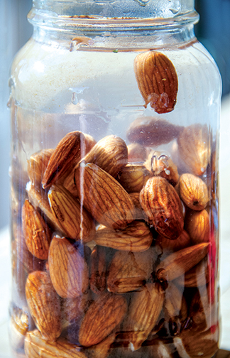 Soaked Almonds © 2013 Guri Bigham