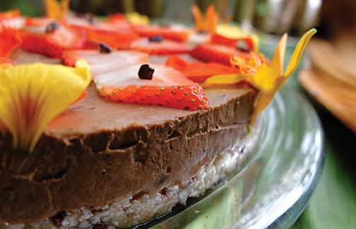 'Ulu Chocolate Cake © 2015 Guri Bigham