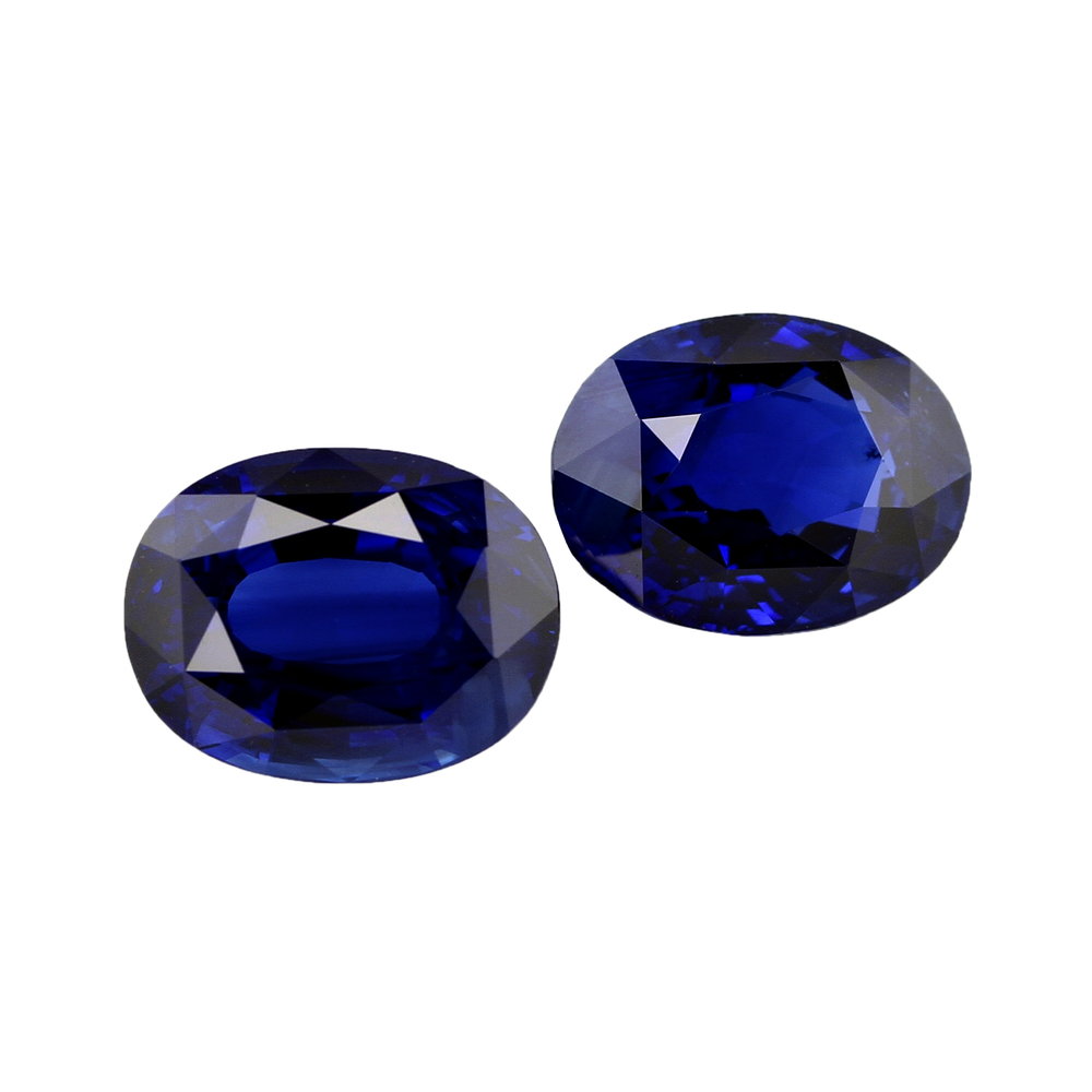 earrings kate celebrity blue jewelry royal beloved set faux sapphire bridal prong silver studs fashion sparkles products halo carat wedding stud oval cut diamond