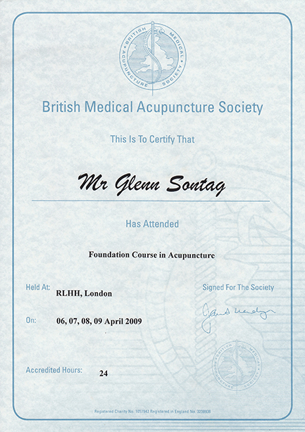 BMAS Foundation Course in Acupuncture — Blue Eye Osteopathy
