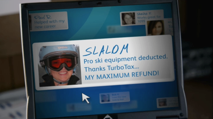 """Skiing"" gag 2"