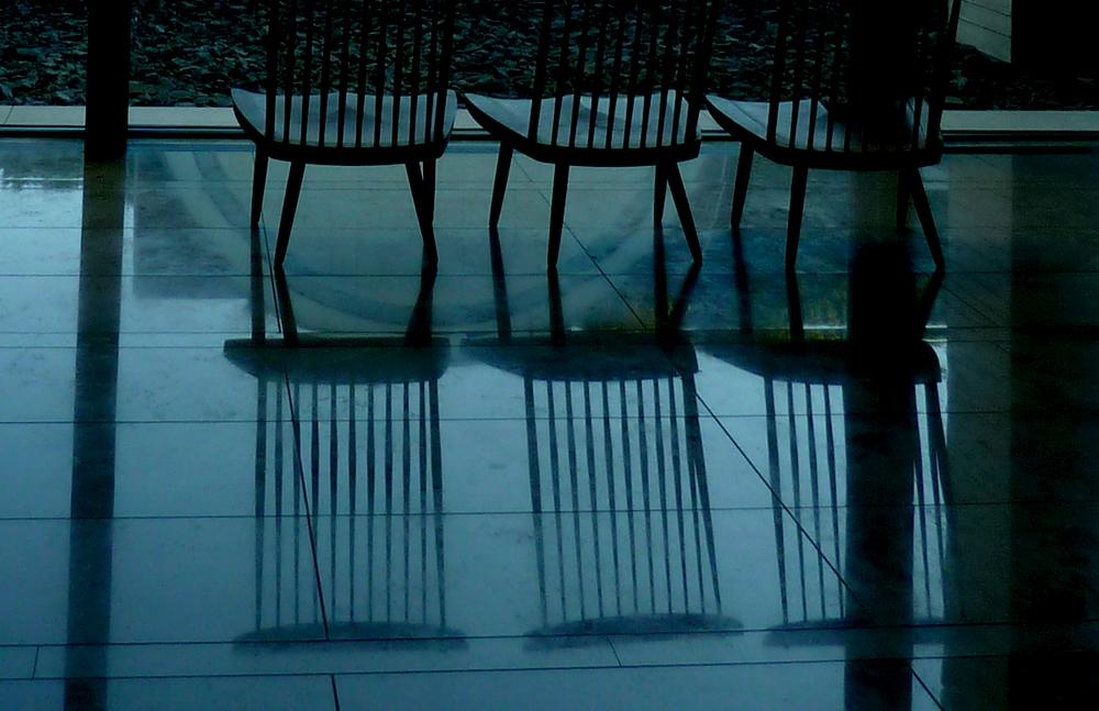 Architects often borrow phenomena from something. It may be:  memory experience precedent experiment  (photo by Junko Yamamoto: Tomioka Museum)