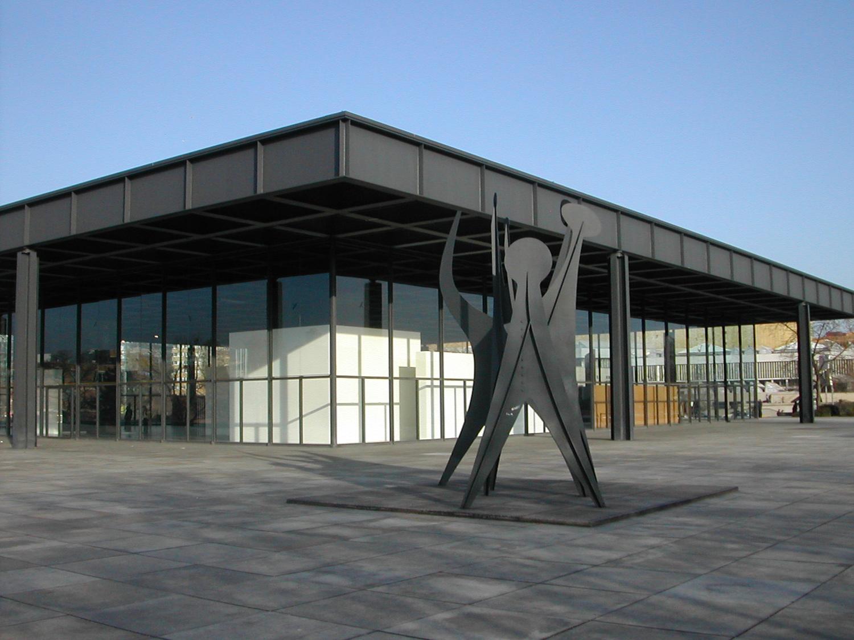 Not Yet Neue Nationalgalerie Mies Van Der Rohe Berlin Yes