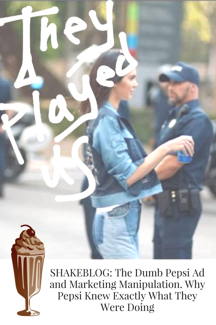 Pepsi Ad and Marketing Manipulation