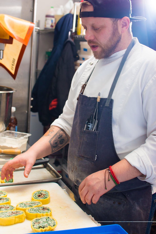 Image: Chef Sean Wilson, Proof Restaurant, Des Moines, Iowa