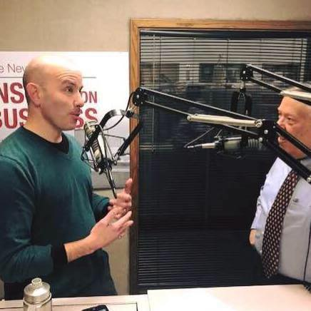 Good Milkshake's Phil K. James with Michael P. Libbie talking Marketing for Restaurants and other small business marketing in Central Iowa