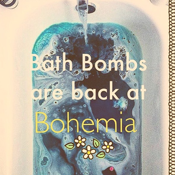 Get your soak on, with these luxurious Bath Bombs from Saltspring Soapworks! Yum!  #yycshopping #blackdiamondalberta #shoplocal #supportlocal #saltspringisland #saltspringsoapworks #handmadesoap #homemade #bathbomb #diamondvalley #turnervalley #bohemiastore