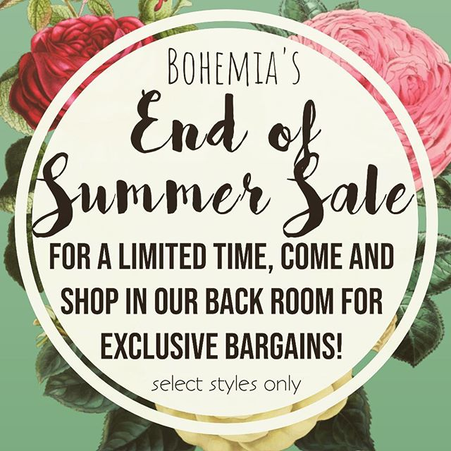 Over 100 pieces have just been reduced to $14.99!  Come on in and ask to see our Summer Clearance rack!  #yycshopping #blackdiamondalberta #turnervalley #shoplocal #supportlocal #summer #summerclothes #clearance #bargainhunt #diamondvalley #okotoksshopping #hippie #hippiestyle #bohemia #bohemian #bohostyle