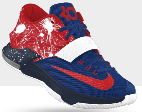 622db499258 usa clearance nike kd 7 july 4th ucs2gbxbxxu1 mens shoes 19d35 388e2  promo  code kd 7 independence day on feet 9164b fb01b