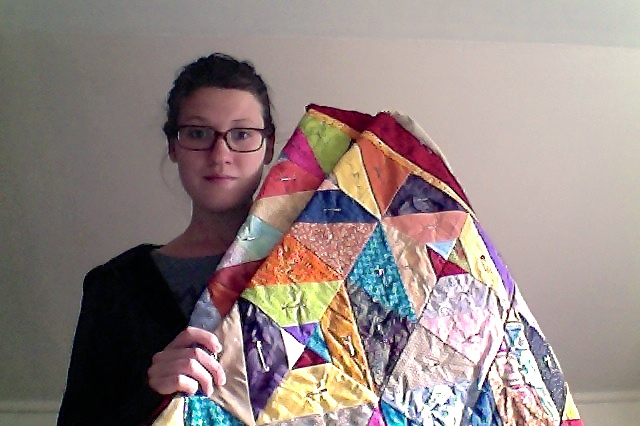 The first quilt.