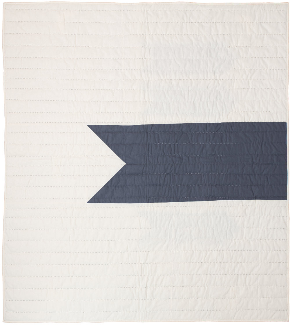 "Route – Back Twin size, 72"" x 82"""