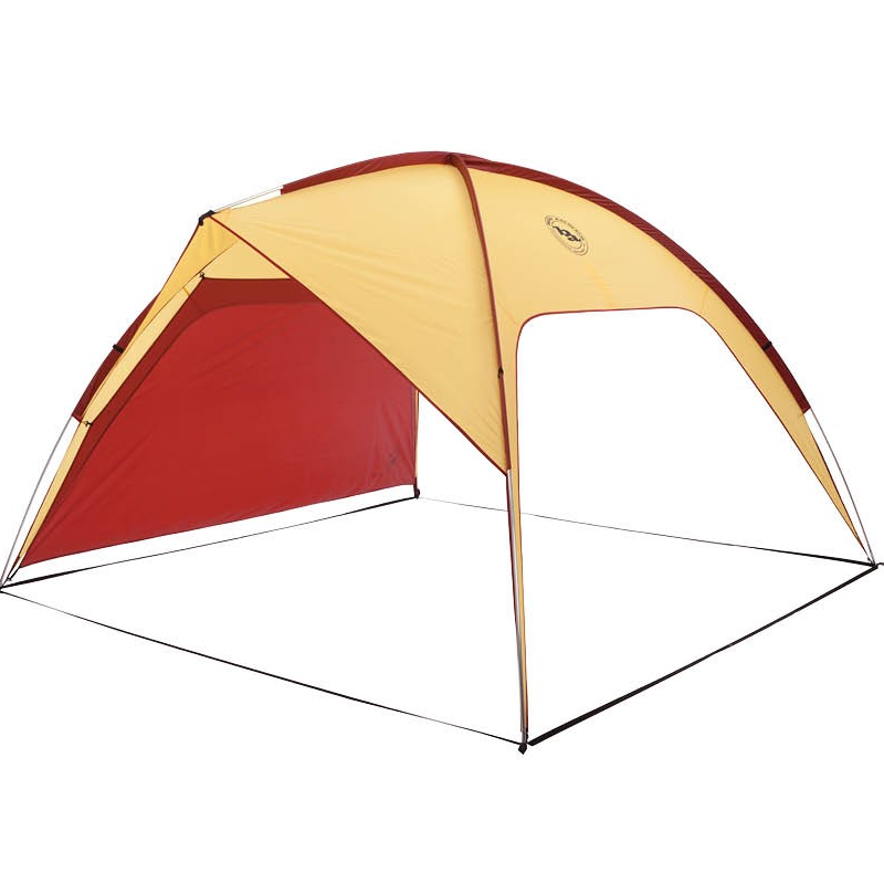 Big Agnes 3 Forks Shelter  Trail Weight: 7lb 3oz Floor Area: 72 sq feet Height 6' 3""