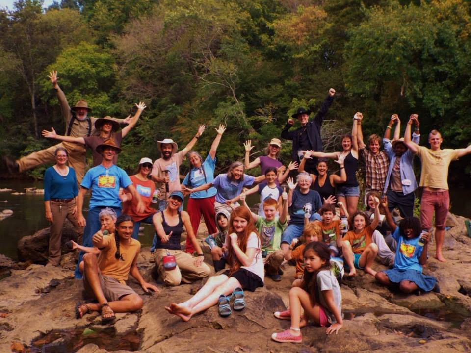 The Haw River Assembly brings together amazing community members to make learning fun. Who doesn't want to spend a week camping in the gorgeous woods of NC with the Haw River gurgling by? Volunteer this year and share your love of the Haw with fourth graders from all over our community.