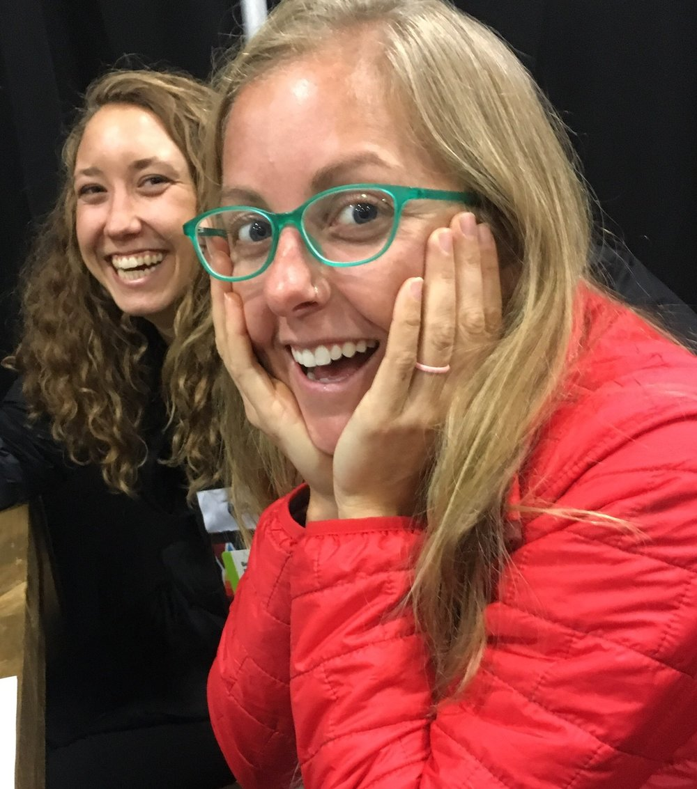 We are so excited to be in the Grassroots Outdoor Alliance! Erin is especially excited in this photo about a new product for fall 2018!