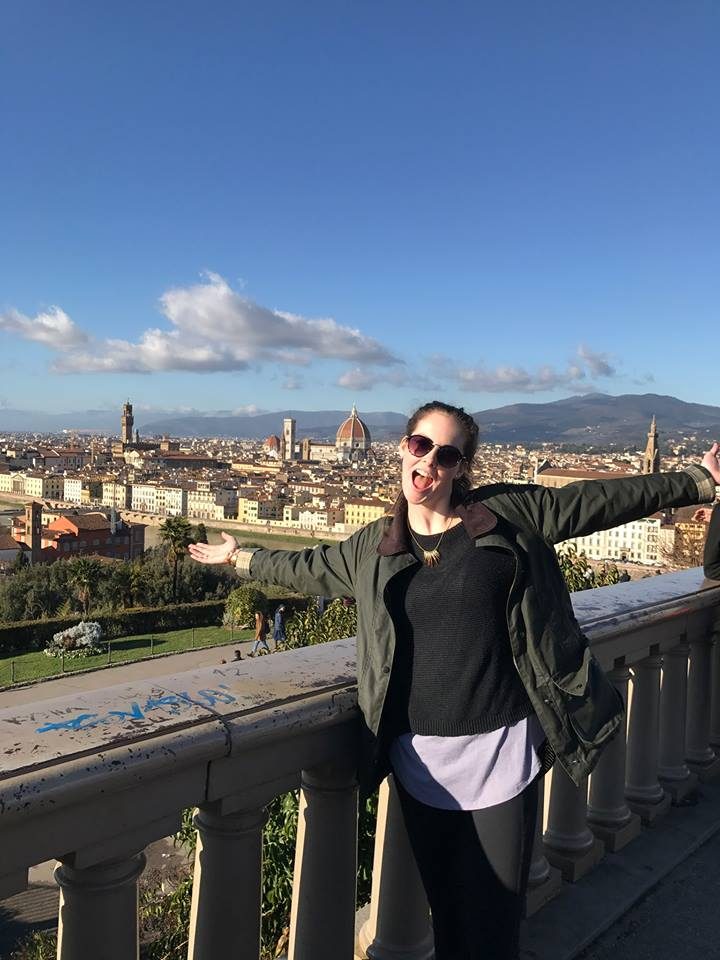 Say Hello to Olivia in Italy!