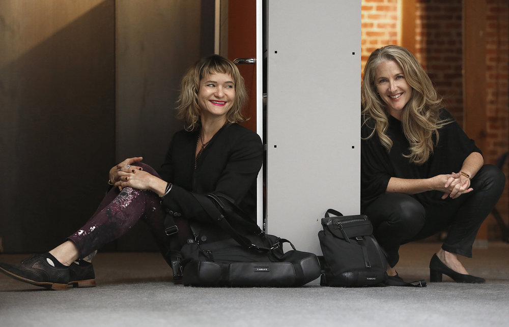 Andrea Chynoweth with CEO Patti Cazzato.