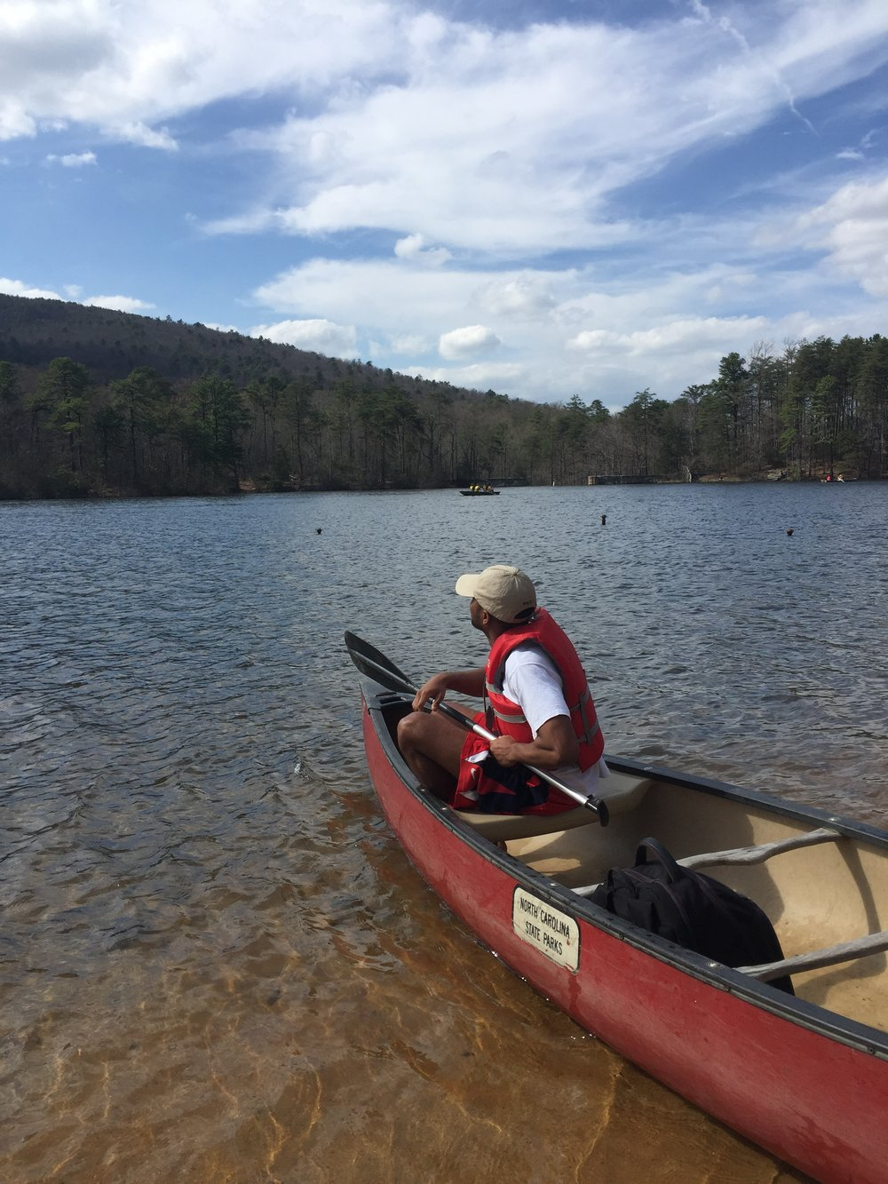Canoeing at Hanging Rock State Park, Danbury, NC