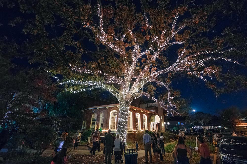 Tree lighting ceremony 2017. Photo thanks to Matt Chenet