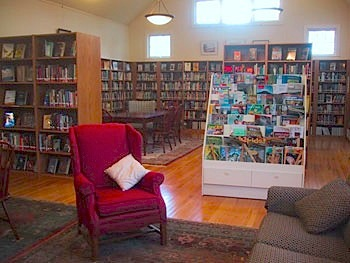 visit to relax with a good book, or come work from the library. WIFI available 24/7