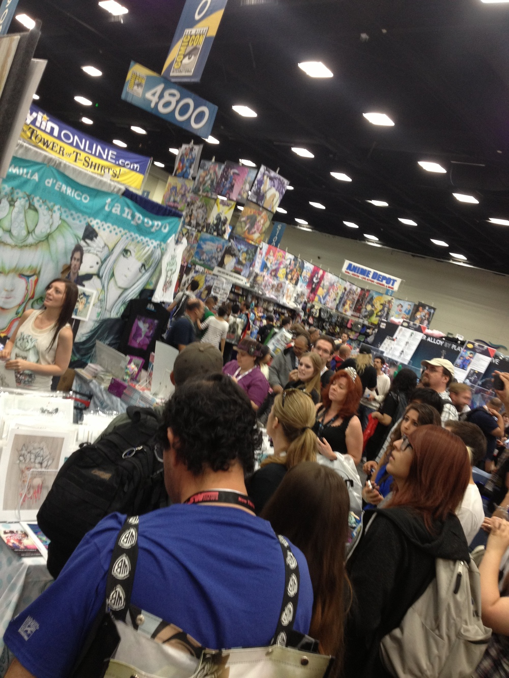 Booth 4723 was always packed! Way to go Camilla!