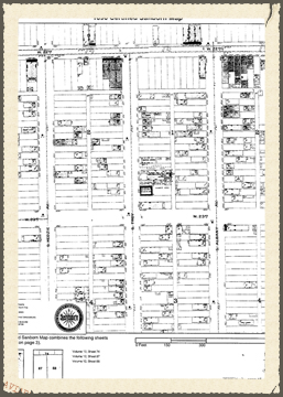 Sanborn Fire Insurance Map, 1896
