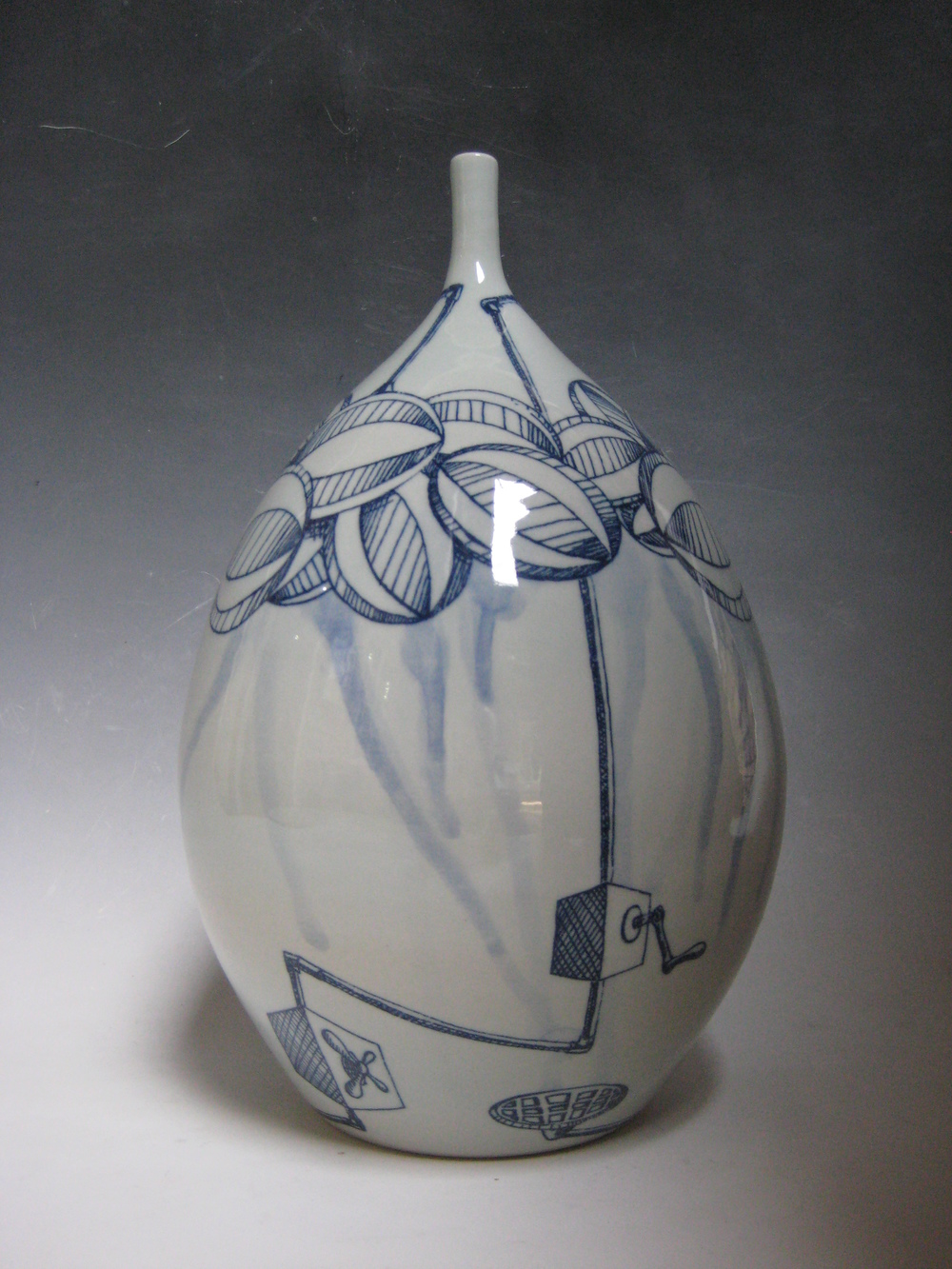 Cloud Machine Vase