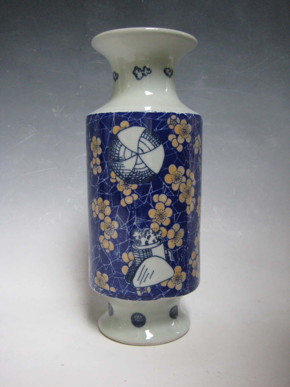Cannons and Flowers Vase