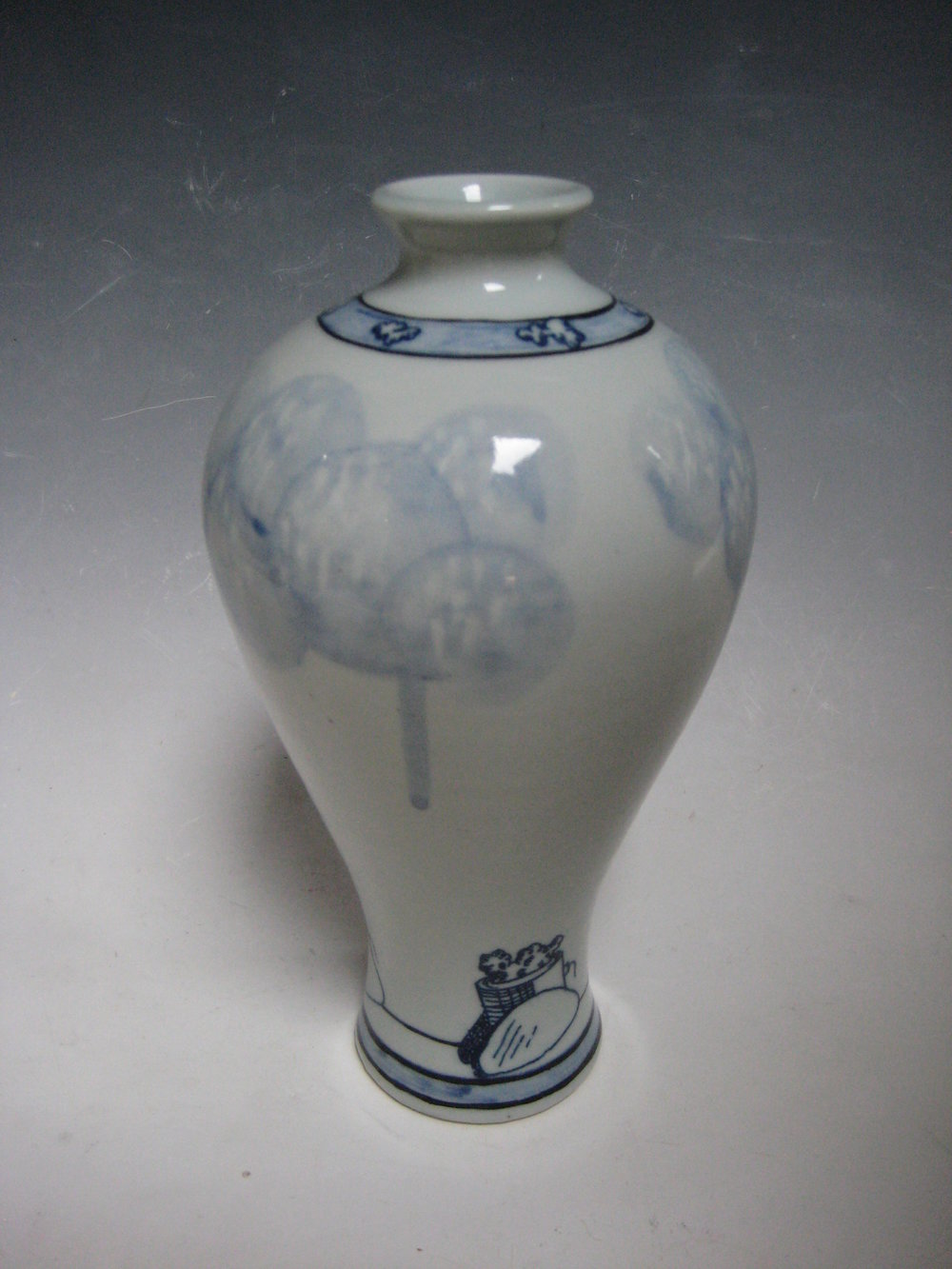 Cannons and Clouds Vase