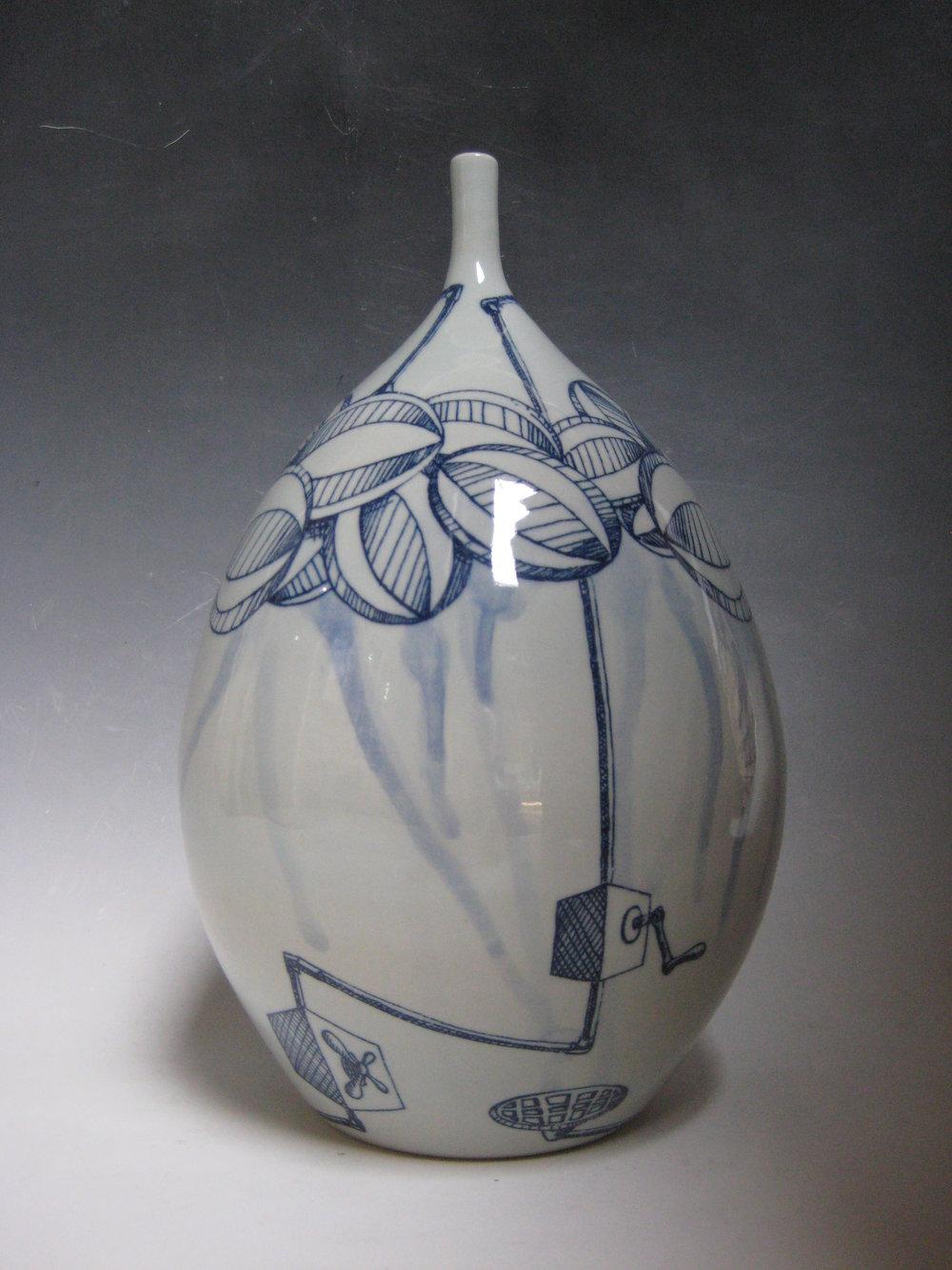 Cloud Machine Vase