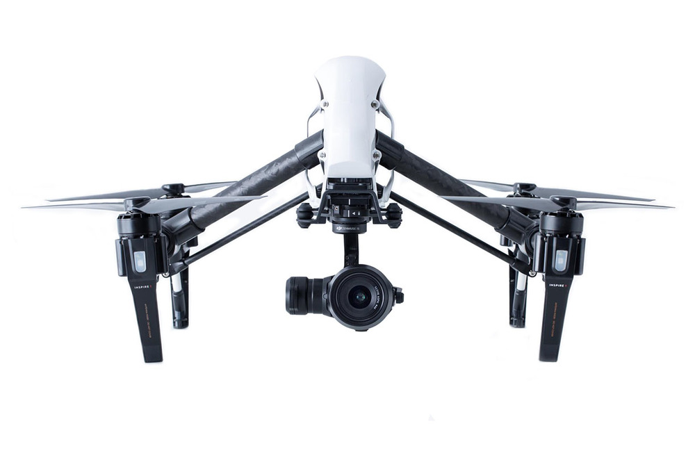 DJI Inspire 1 Pro with X5 camera.
