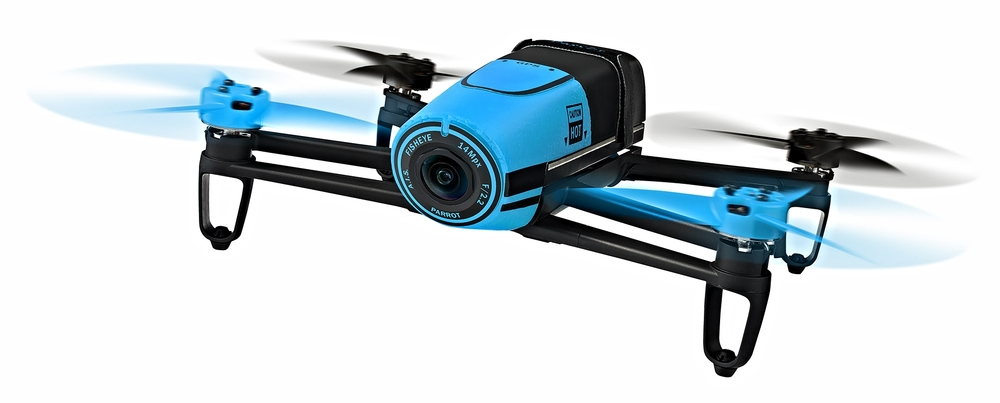 With it's one-eyed design and whimsical colors, the Parrot Bebop is absolutely adorable