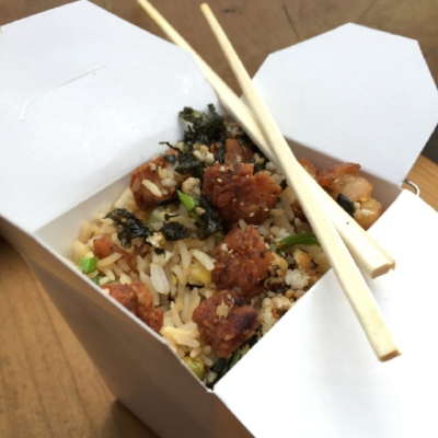 HONEY BUTTER FRIED CHICKEN BRINGS BACK FRIED CHICKEN FRIED RICE TAKEOUT FOR ONE NIGHT ONLY