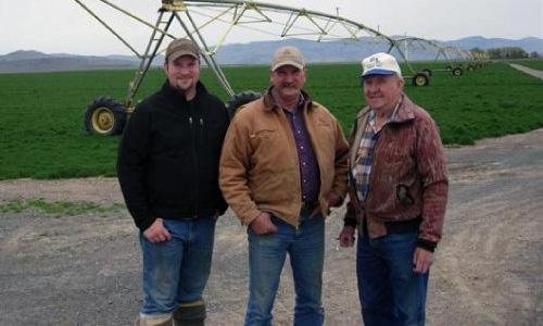 Seth, Brad, and Harold Klann