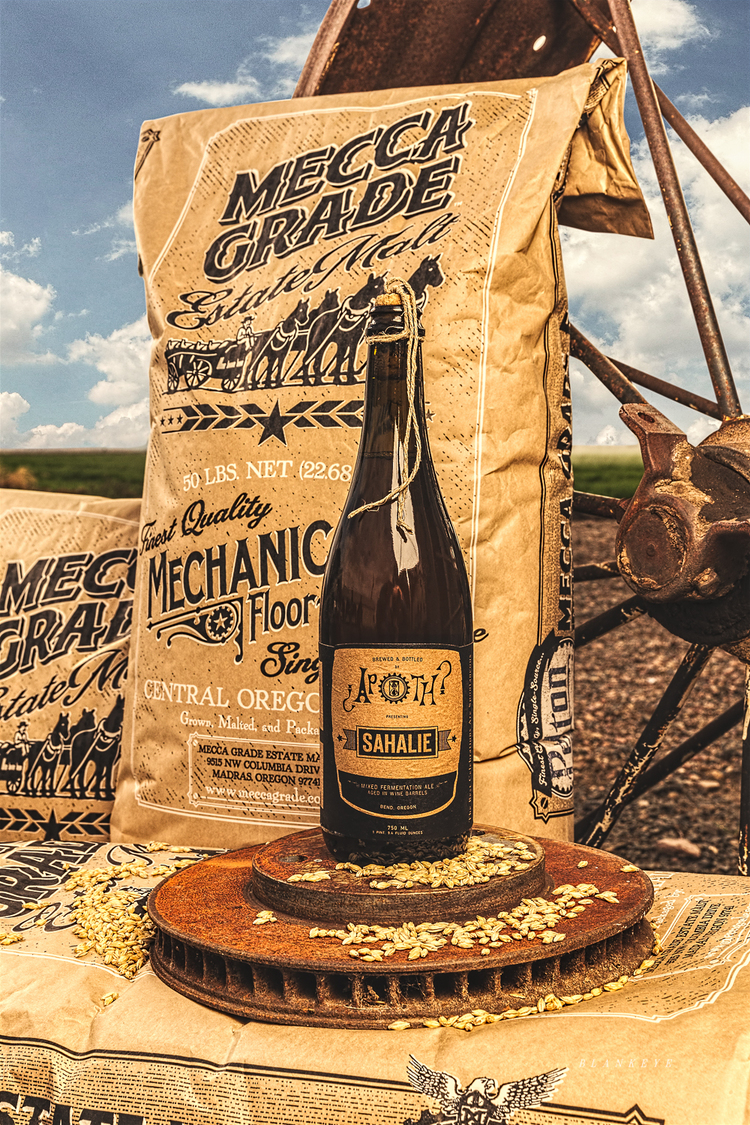 Mecca Grade Estate Malt is proud to be one of the unique, local ingredients featured in Ale Apothecary beer -  Photo by: Blankeye