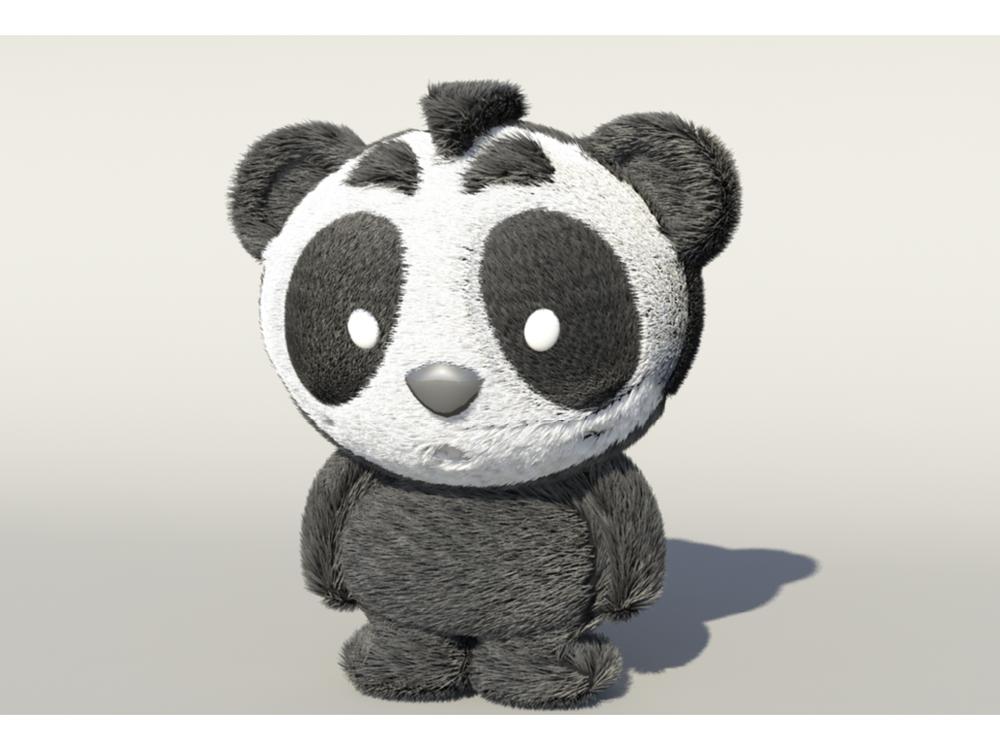Panda Bear Character