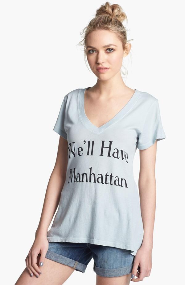 We'll have Manhattan