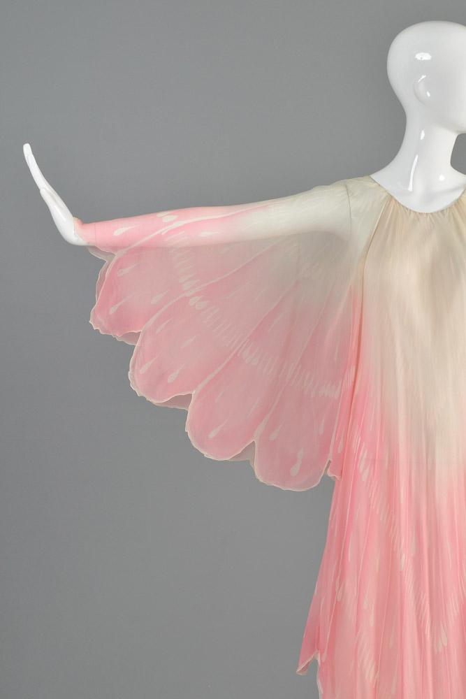 bustown-modern-vintage-oscar-de-la-renta-pink-sheer-scallop-feather-angel-sleeve-midi-dress-004.jpg