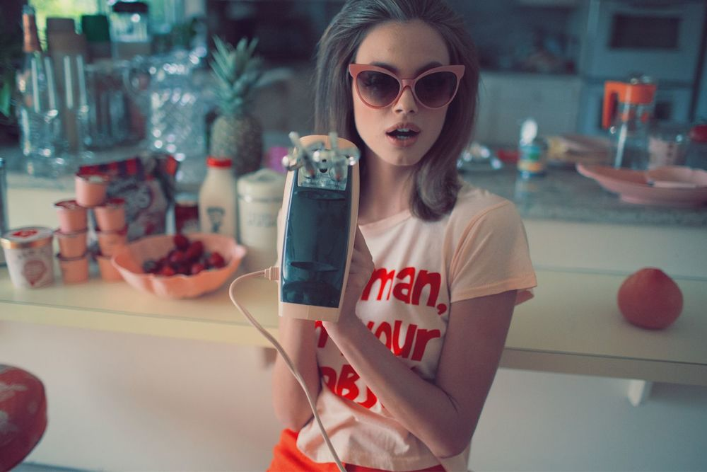 Wildfox Valley of the dolls, created by Kimberley Gordon,  shot by Mark hunter, Modeled by Vita Sidorkina and Kristina Peric. Pink and dreamy 60's inspired, a true love letter to this vintage era.