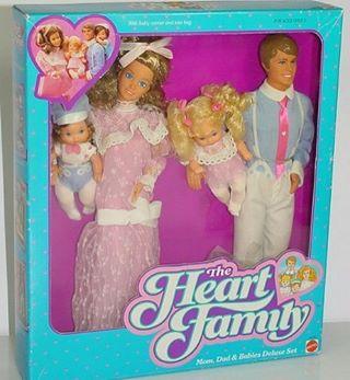 "In case you'd forgotten ""the heart family"" #theheartfamily #vintagetoys #nostalgia"