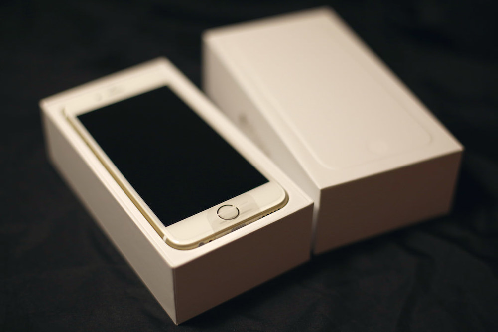 iPhone 6, unboxing