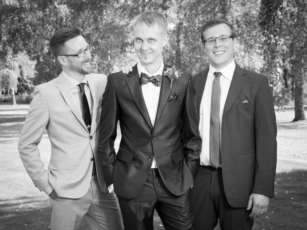 Brudgum, bestmen