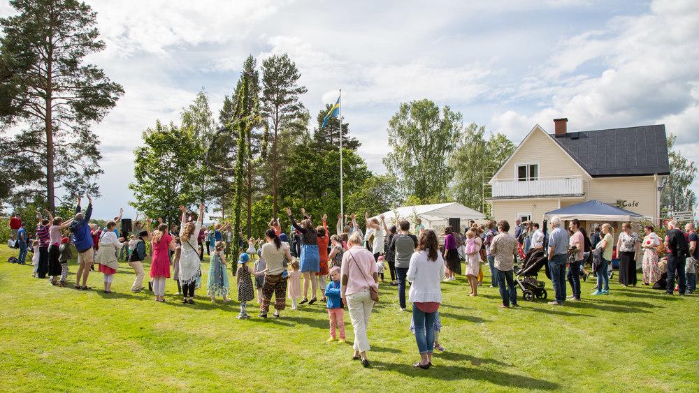 Midsommar på Björknäs, Arvika