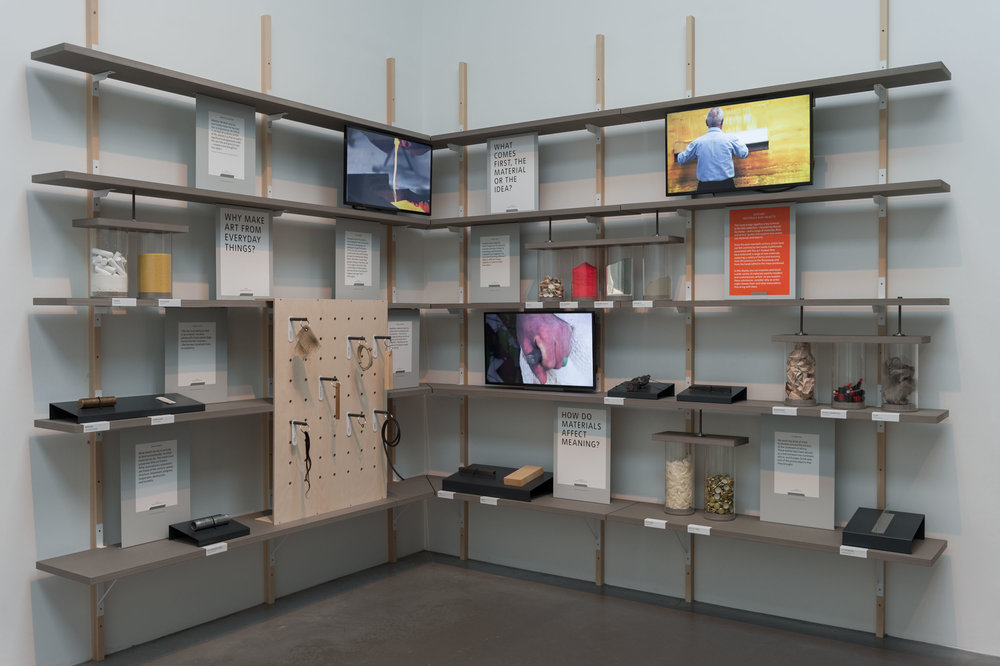 Material Library Designed And Created To Show The Vast Selection Of Materials  Used In The Sculpture Selection At Tate Modern. Commissioned To Coincide  With ...
