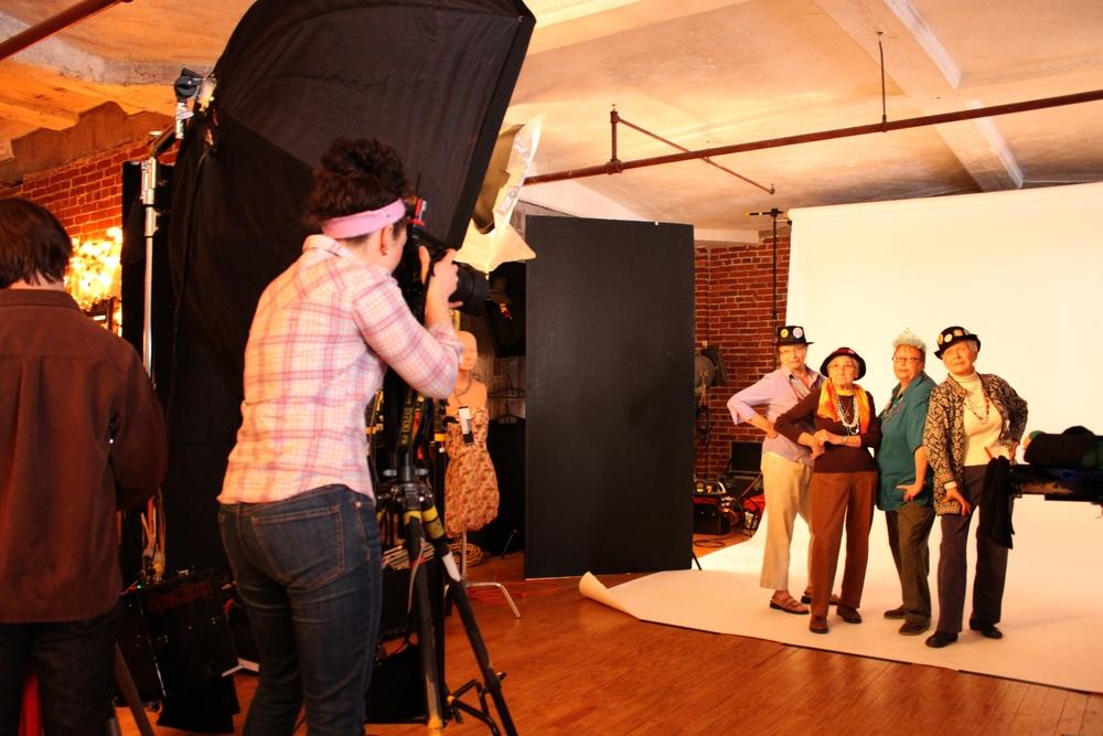 Behind the scenes Raging Grannies
